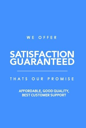 Our Website is Satisfaction Guaranteed!